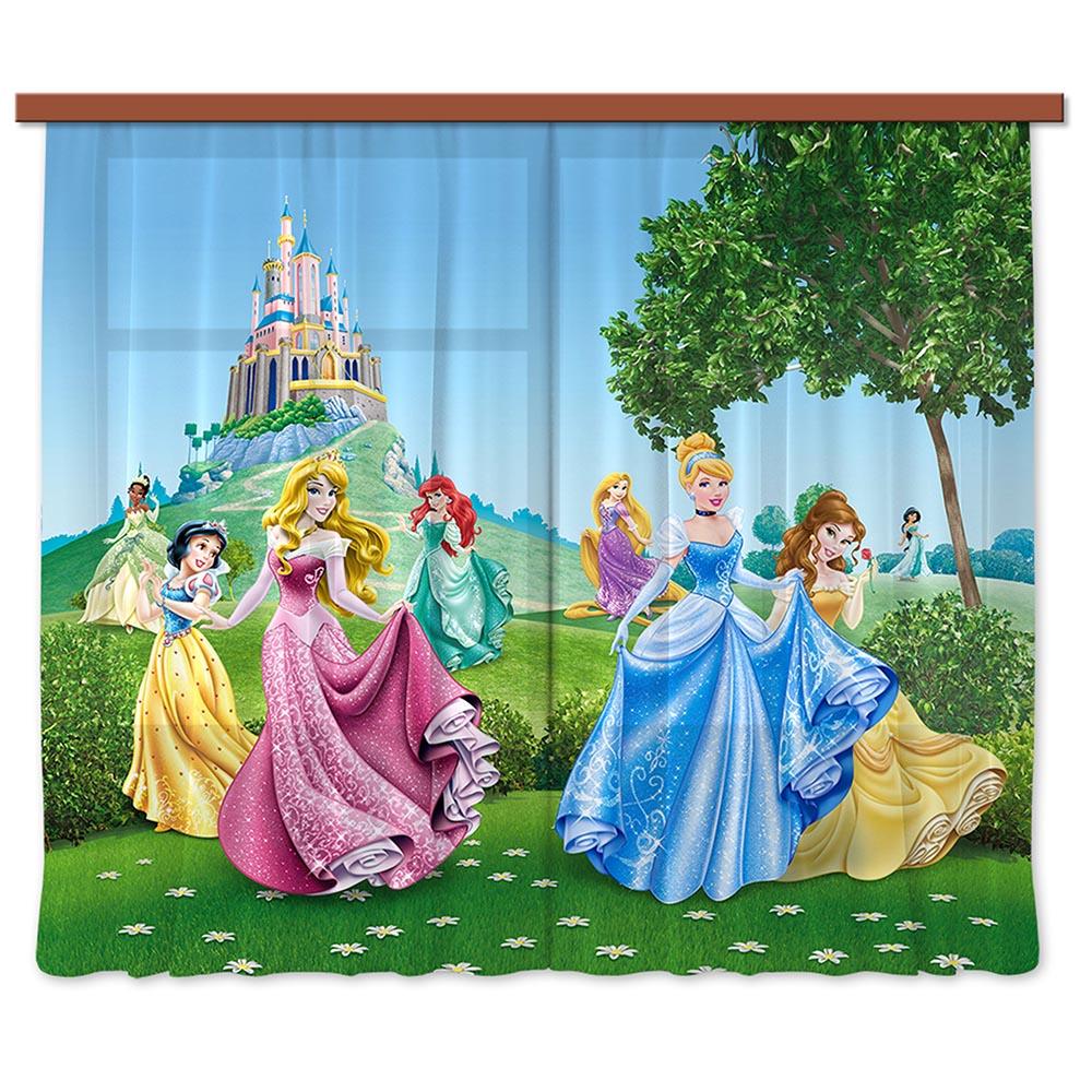перде Disney 180х160/2ч Принцеси