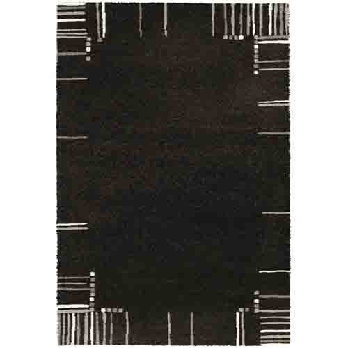 килим Mehari 133х195 т.кафяво черти