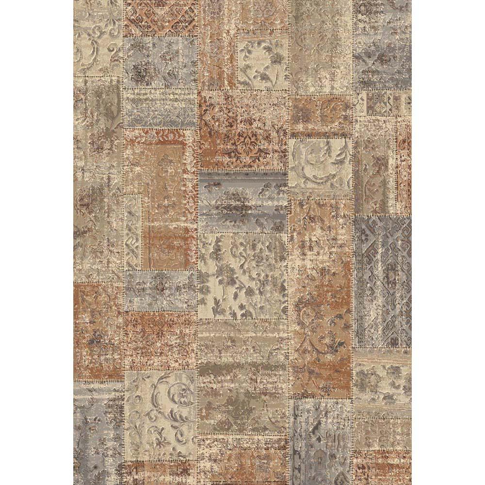 килим Sundance Patchwork ръжда