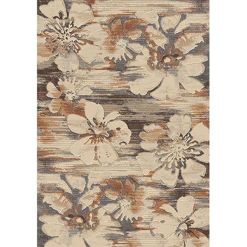 килим Sundance оранж цветя