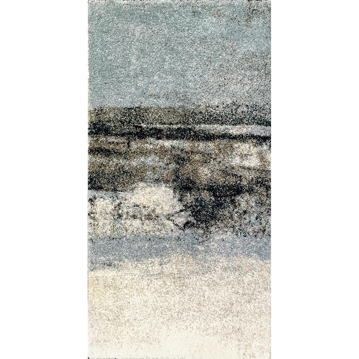килим Softness преливащо крем синьо 80х150