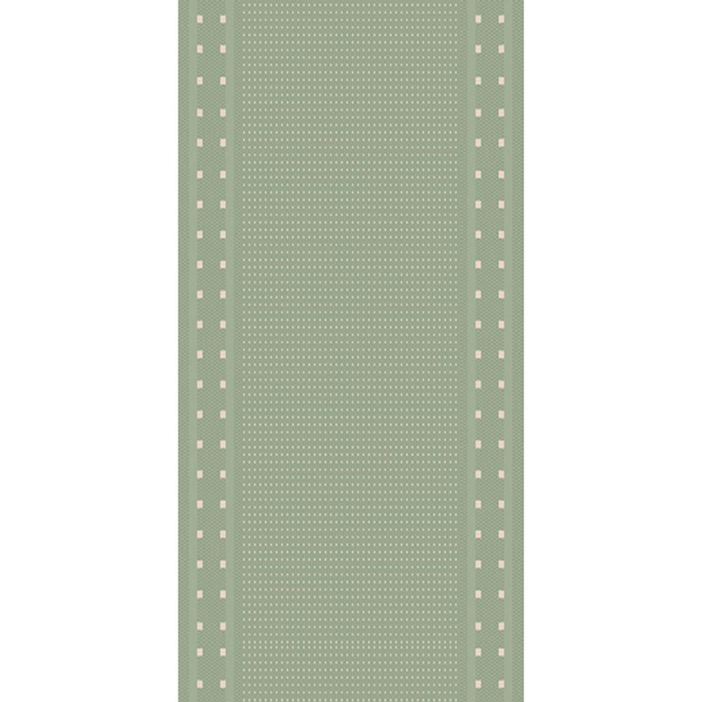 килим Cottage маслинено-вълна ромб