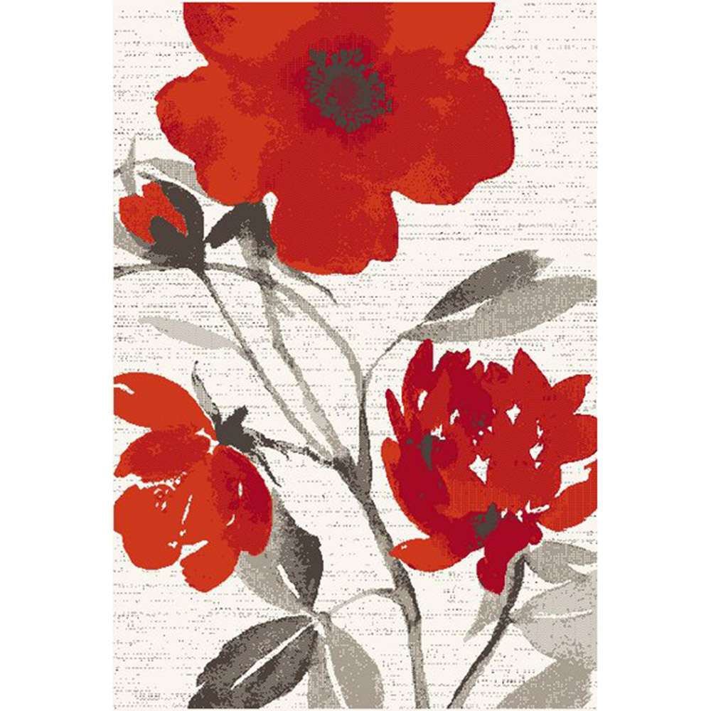 килим Casino оранжeво цвете