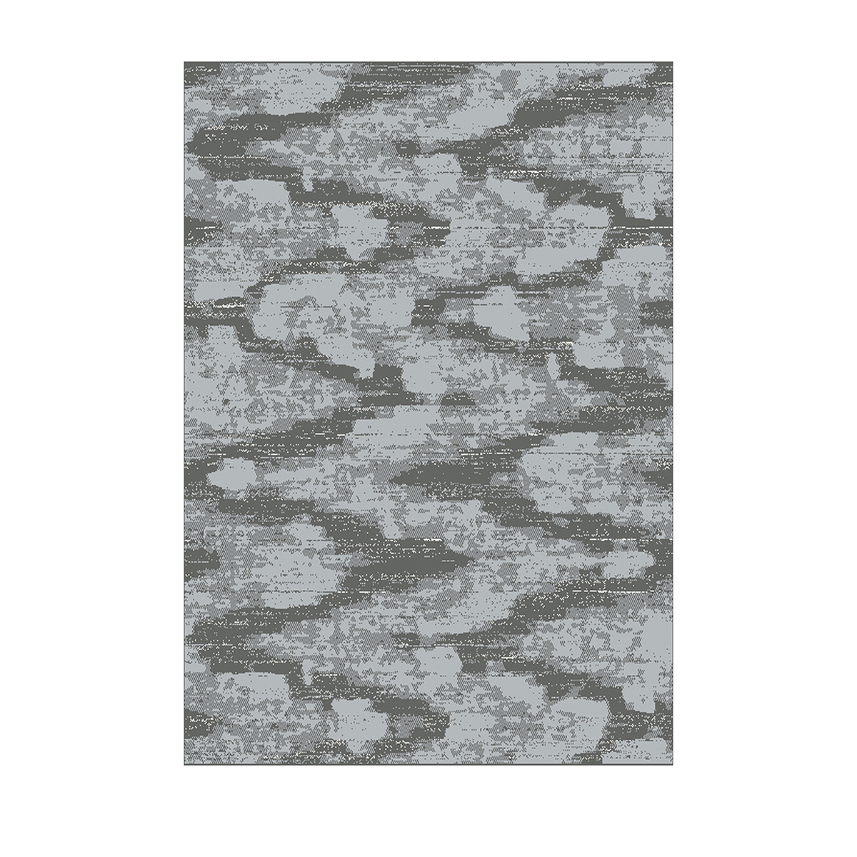 килим Casino преливащи вълни сиво 135х190