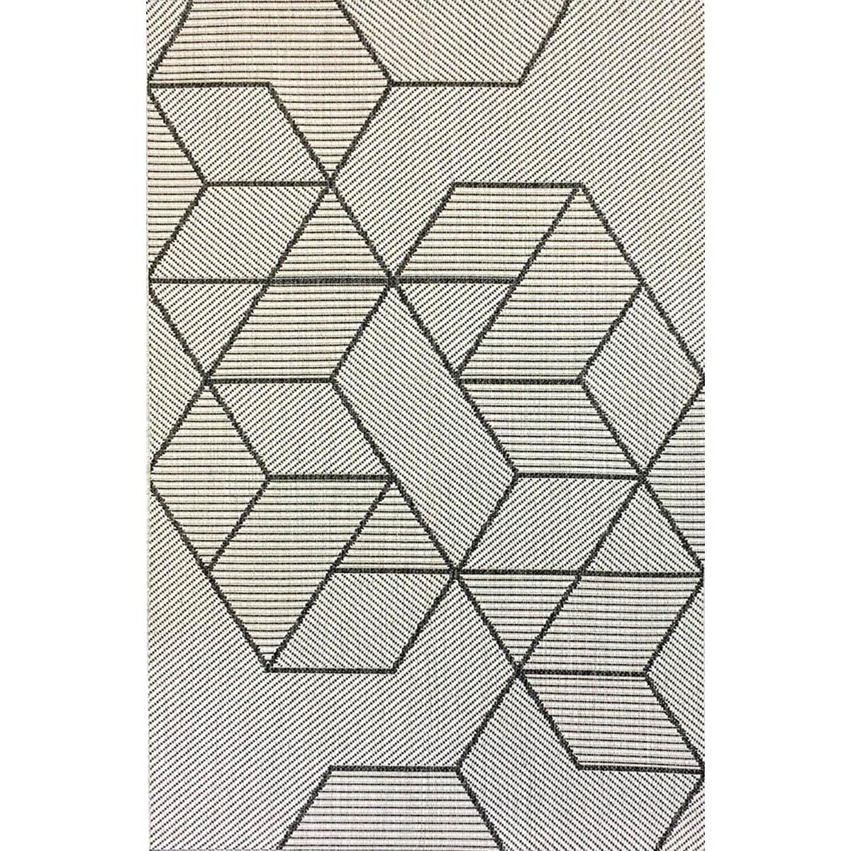 Килим Lineo геометричен сиво