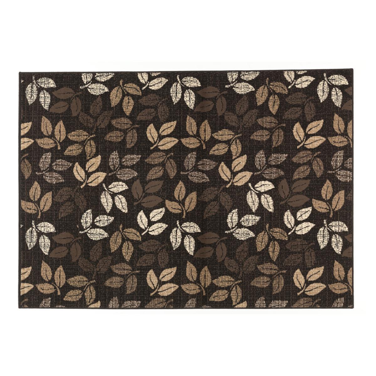 килим Lanu листа кафяво