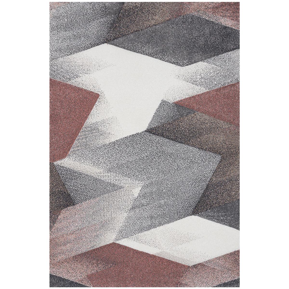килим Natural зиг заг пастелно кафяво