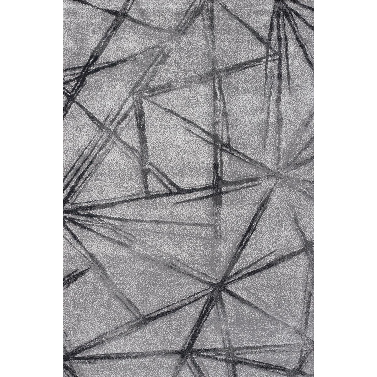 Килим Вегас хоум абстракт сив