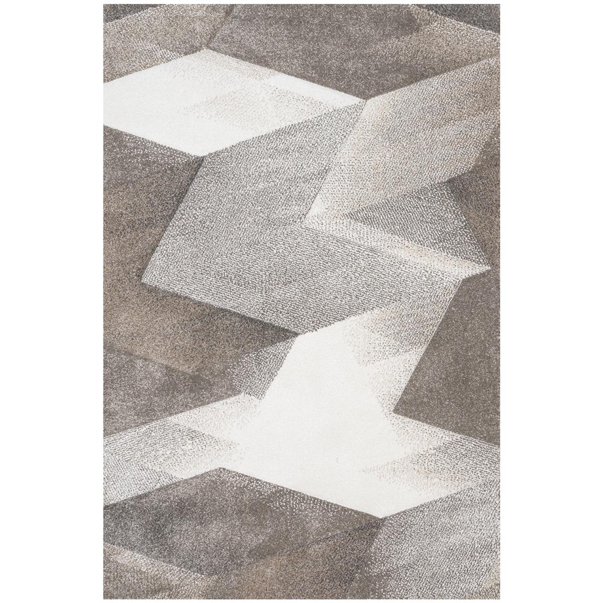Килим Вегас хоум геометрични фигури беж