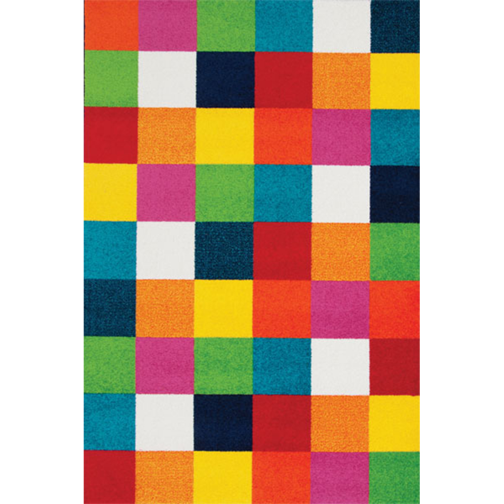 килим Fashion цветни квадрати