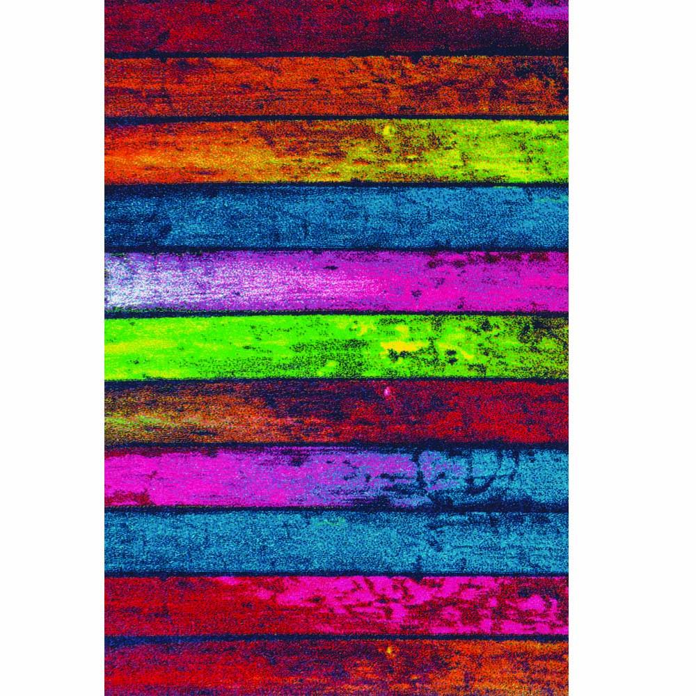 килим Fashion дъски цветни