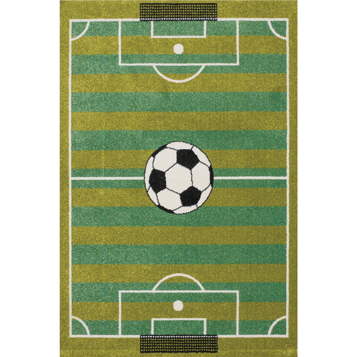 Килим Плей футболно игрище зелен
