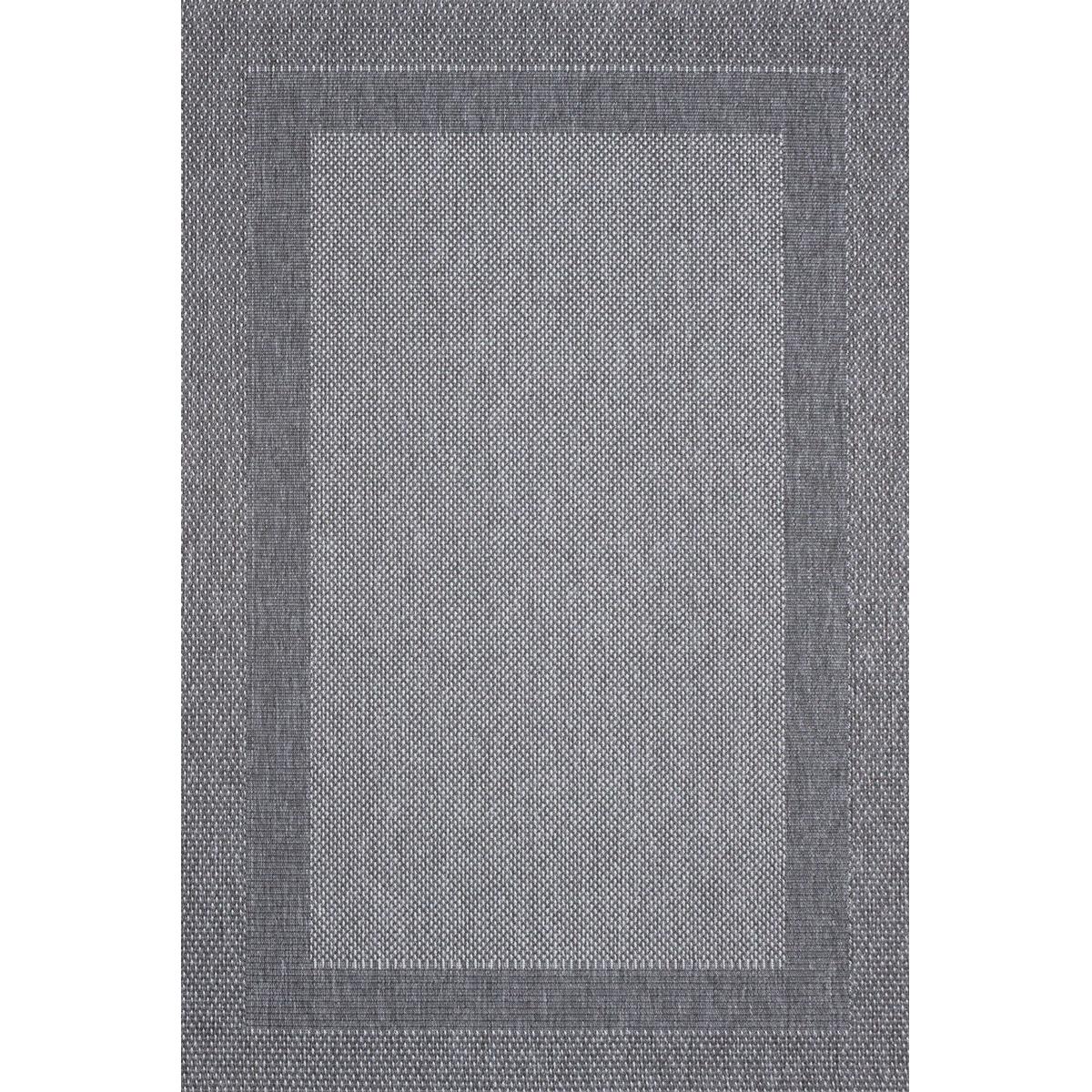 Килим Адриа рамка сив