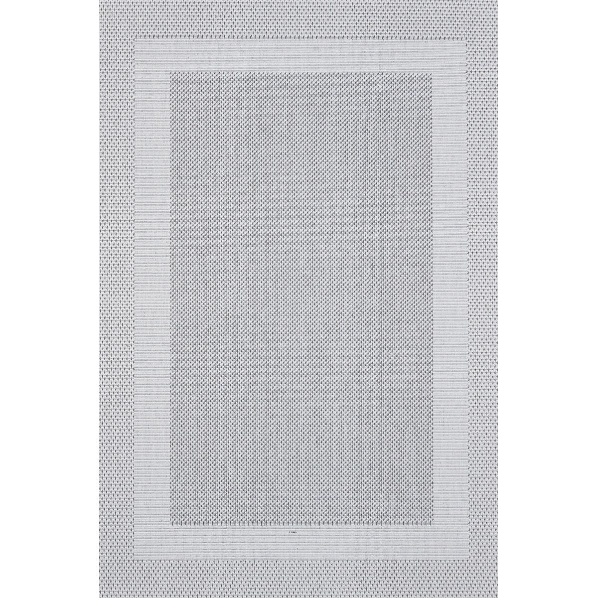 Килим Адриа рамка светло сив