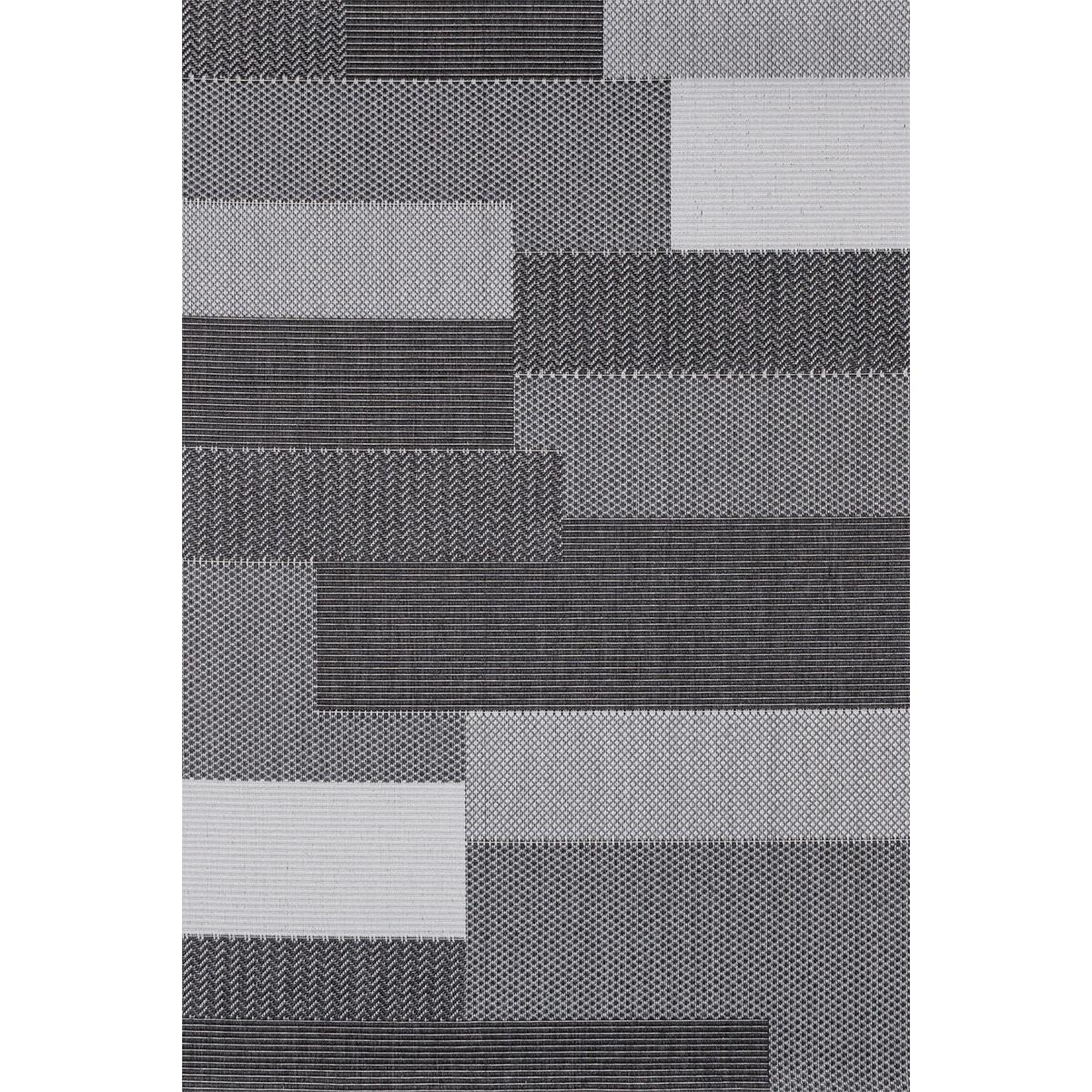 Килим Адриа геометричен сив
