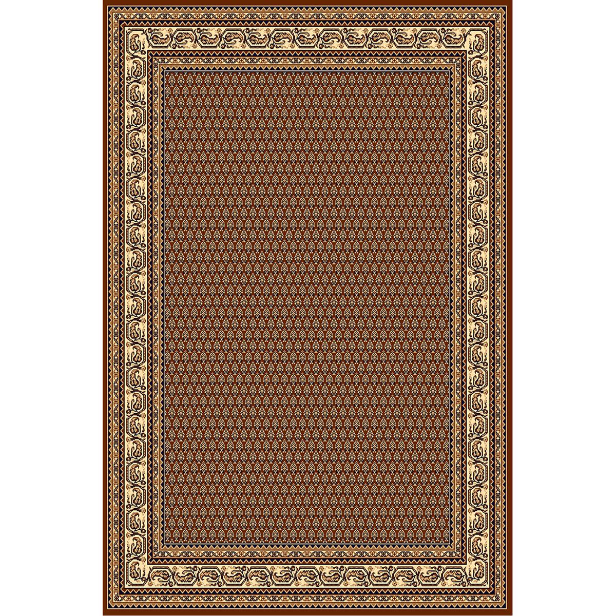 Килим Практика класически рамка кафяв