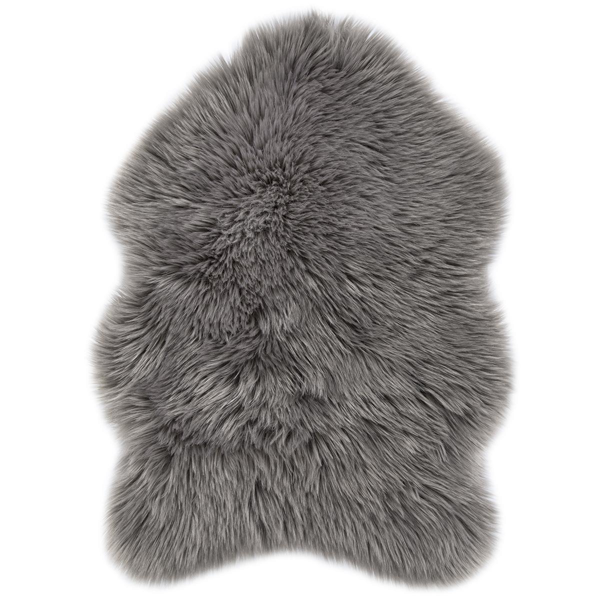 Еко кожа Ovium дълъг косъм таупе 55х80