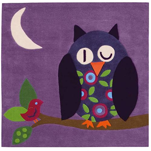 килим Joy – KIDS бухал лила