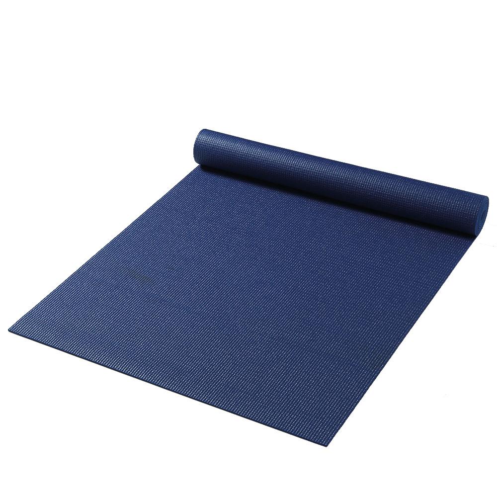 постелка за йога синьо