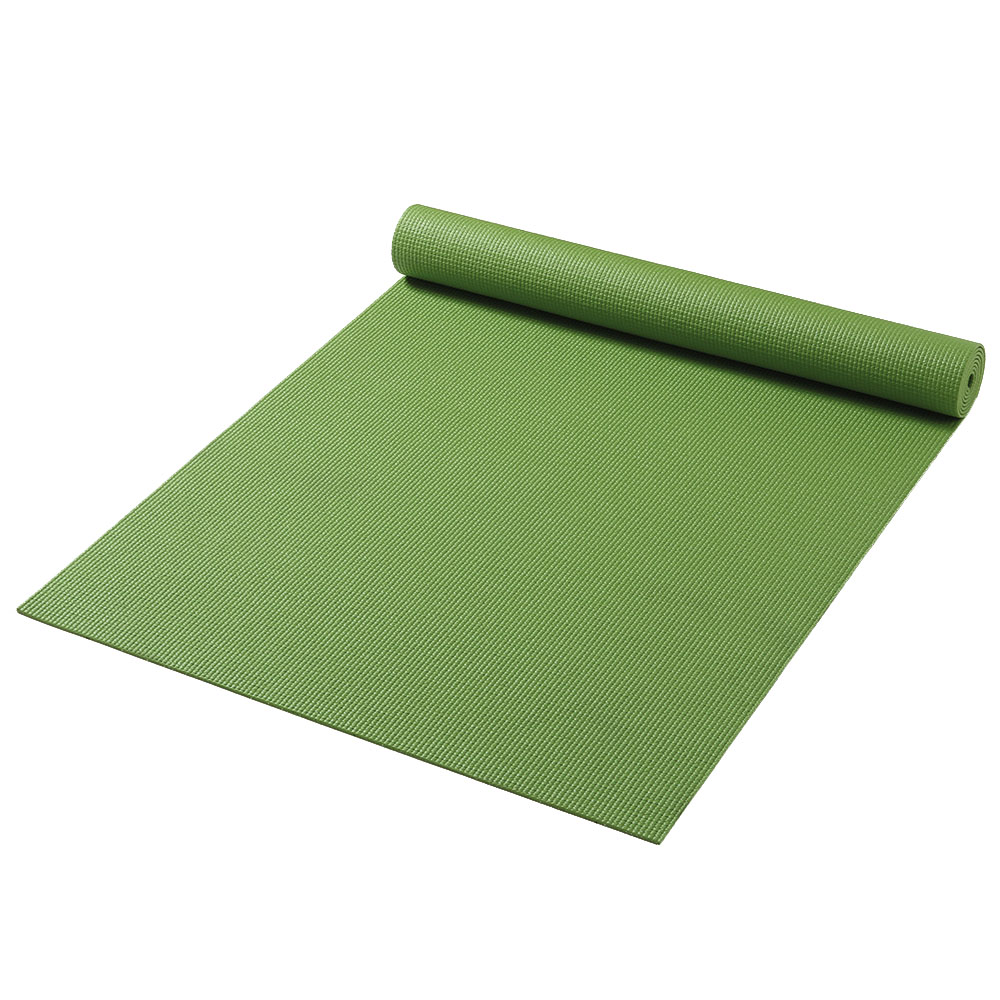 постелка за йога зелено