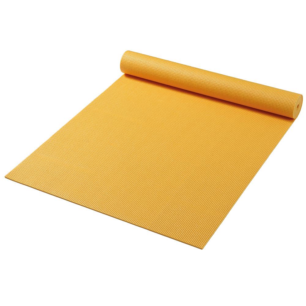 постелка за йога оранжево