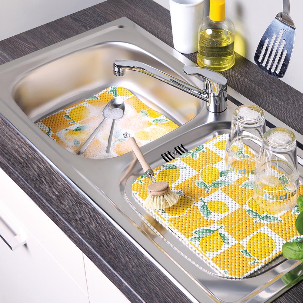 постелка за мивка 26х31 к-т 2ч. Лимон