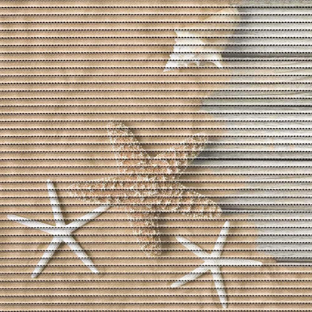 постелка за баня Мотив морска звезда беж