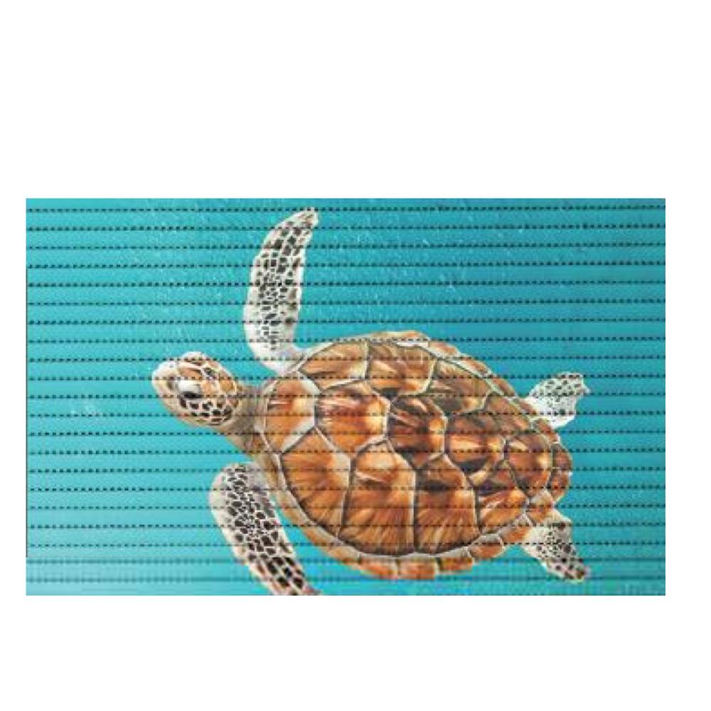 постелка за баня Мотив 48х80 Морска костенурка