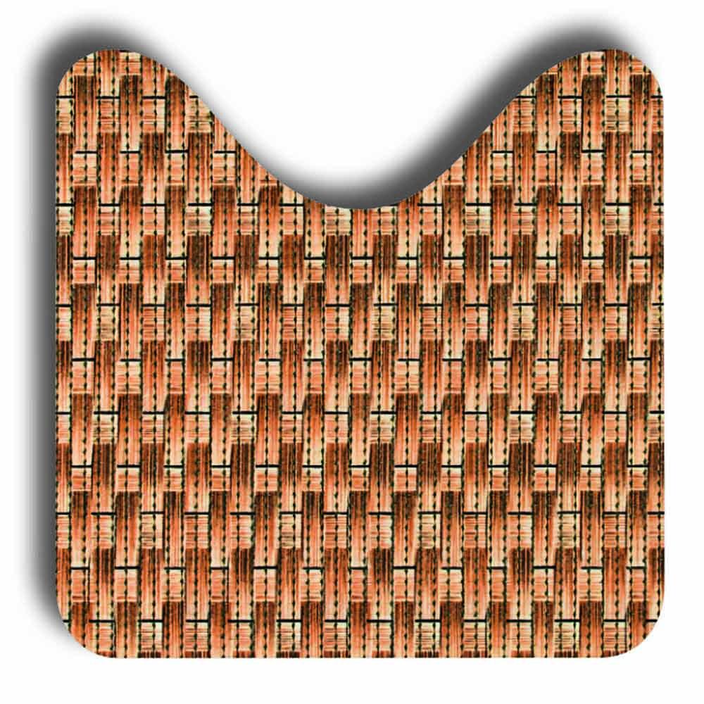 постелки за баня Софти-сет U 80х48+48х48 Ратан кафяво