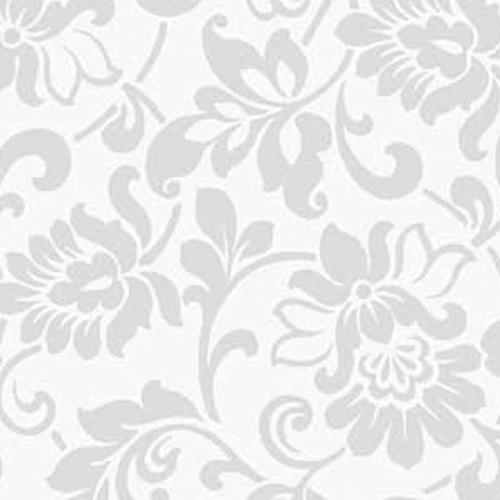 фолио Декор цветя сребристи