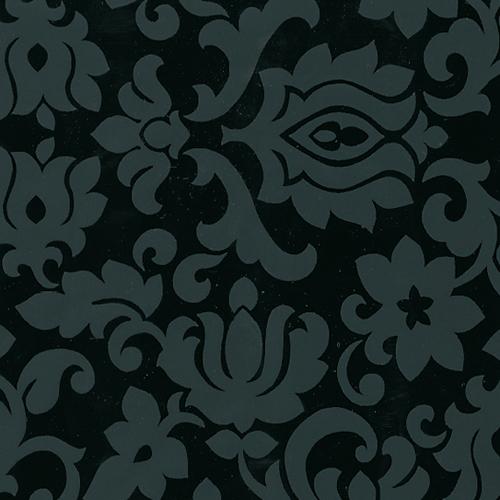 фолио Декор орнамент черно