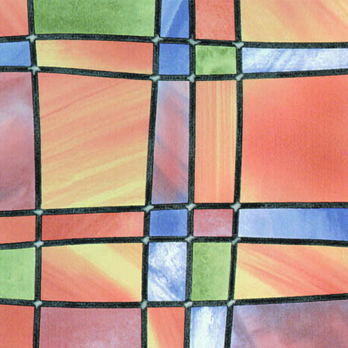 фолио Витражно цветни квадрати