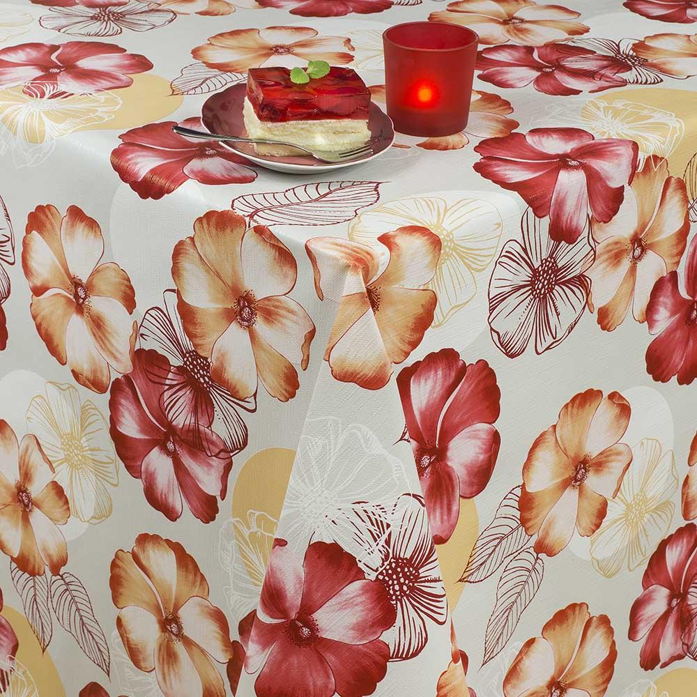 мушама Алдеко Треф червени цветя