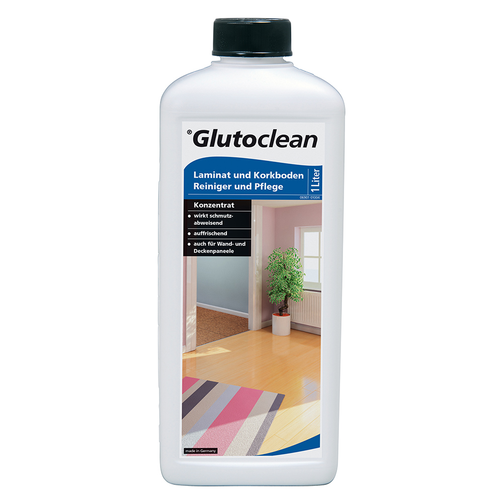 GC Почиства и поддържа ламинат и корков под