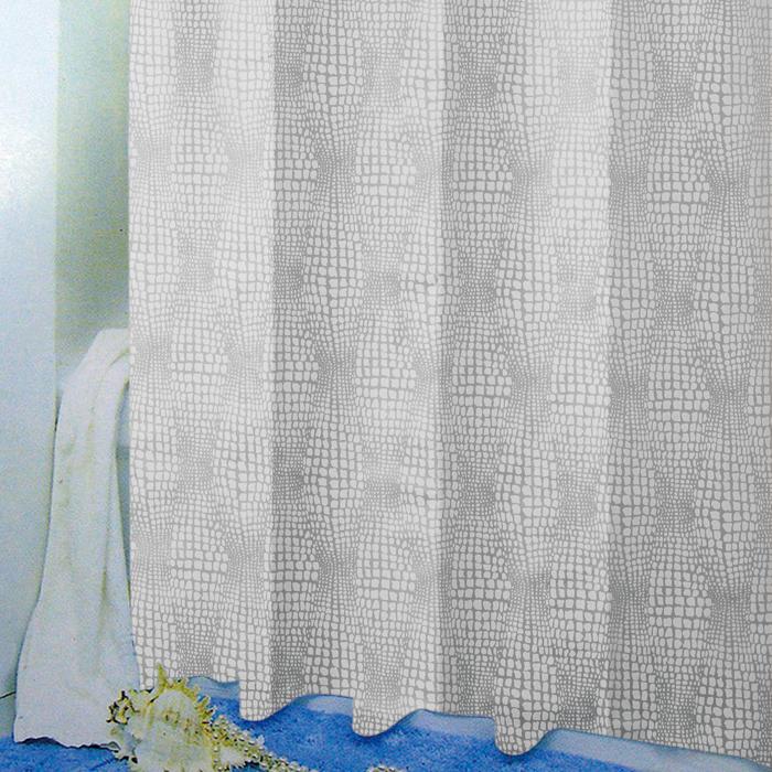 PEVA завеса за баня дъжд бяло
