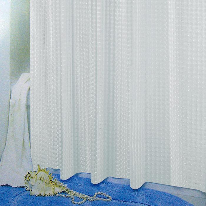 PEVA завеса за баня 3D стъкло