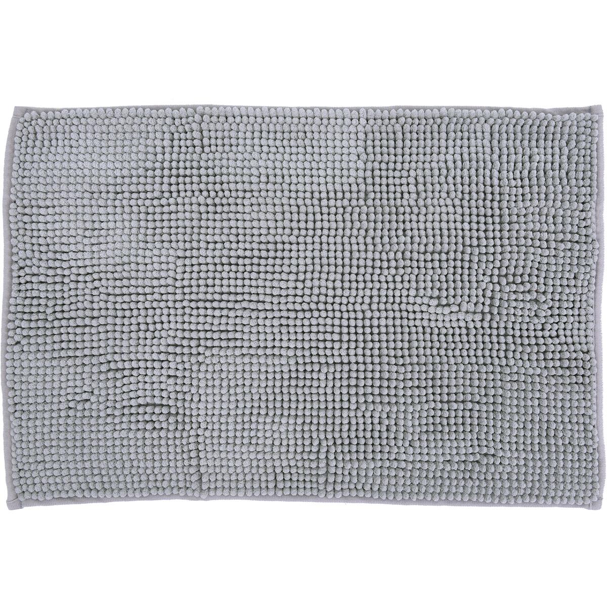 Basic килимче за баня Аква сиво 40х60