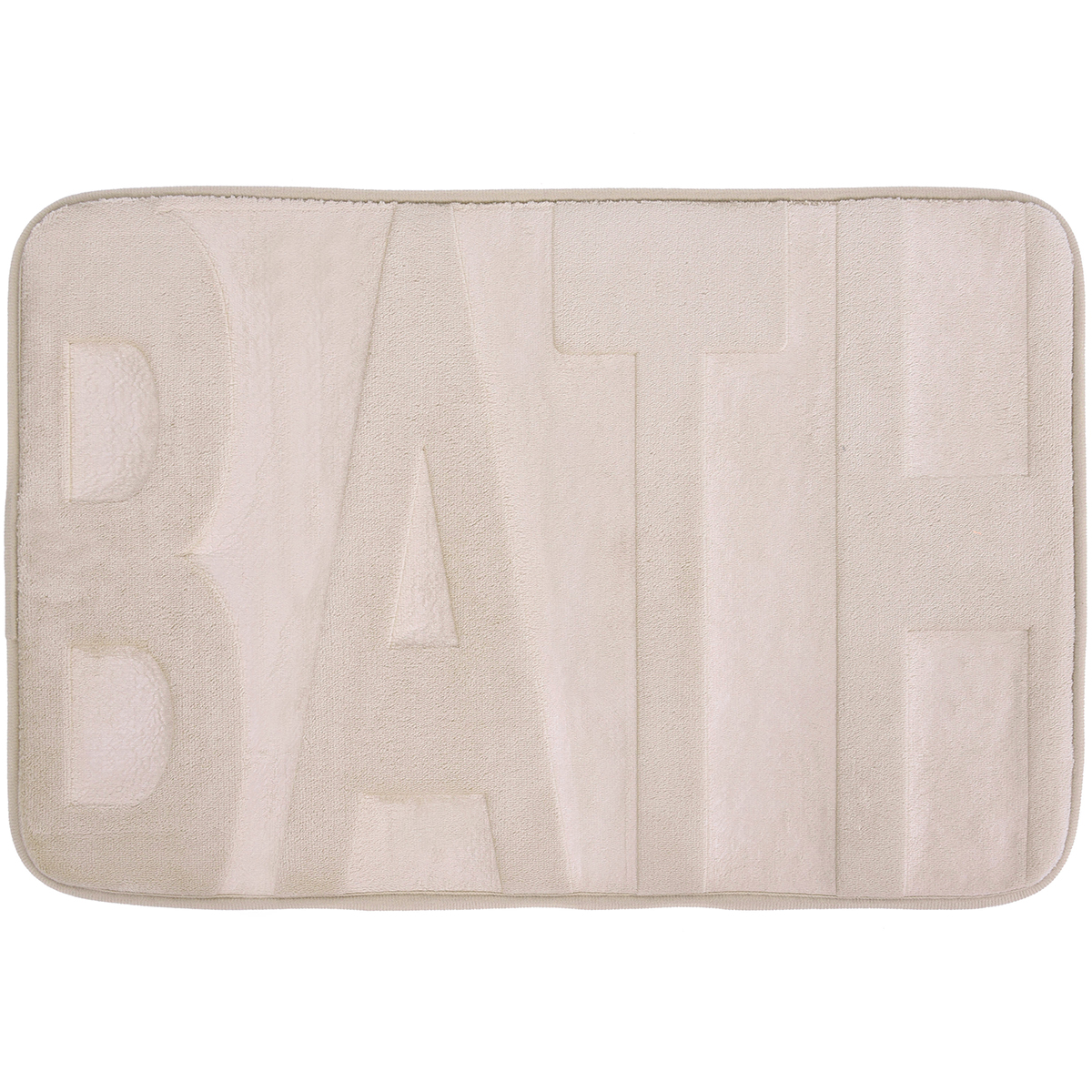 Basic килимче за баня Bath Беж 40х60
