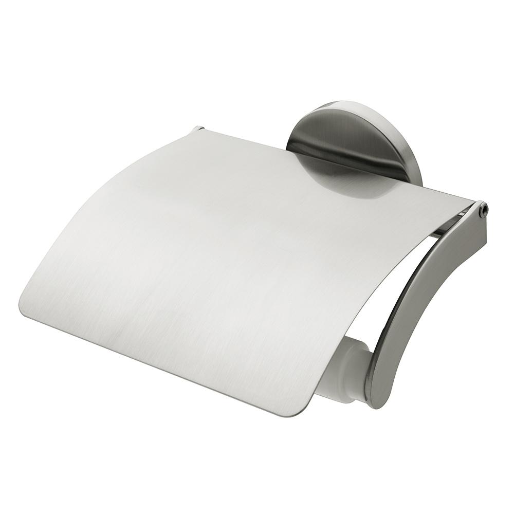 Virginia BF стойка за WC хартия с капак Мат/Никел