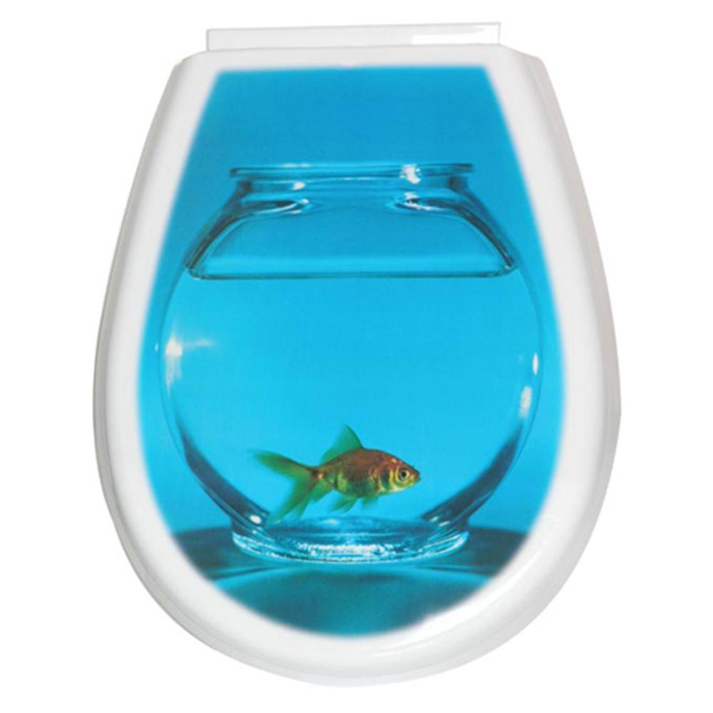 седалка за тоалетна чиния Lilia фото риба