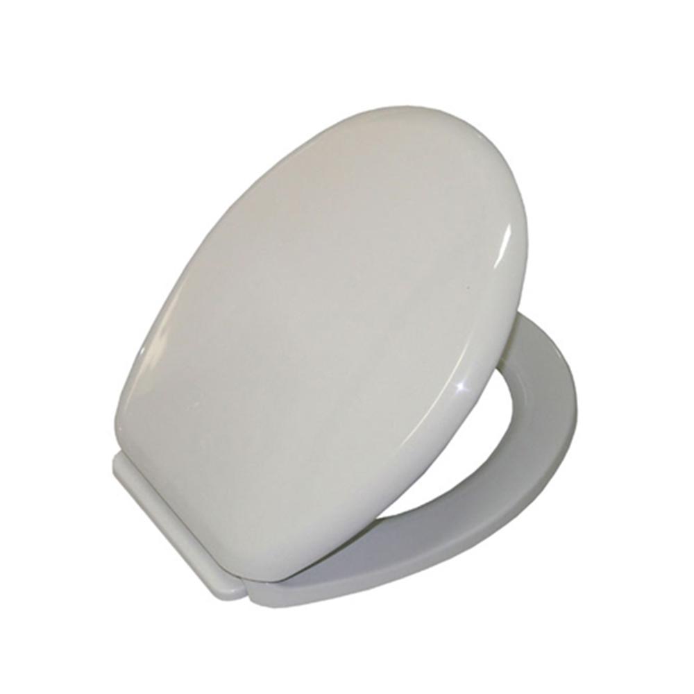 антибактериална седалка за WC чиния Yucca Бяло
